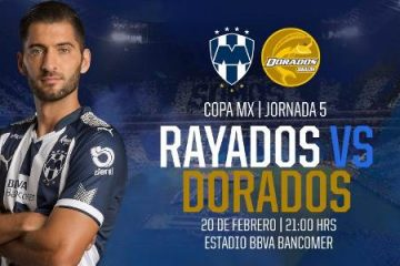 Rayados vs Dorados en Vivo Online Copa MX 2018