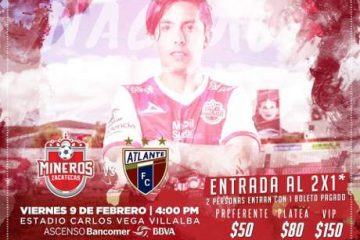 Ver en vivo Mineros vs Atlante Ascenso MX 2018