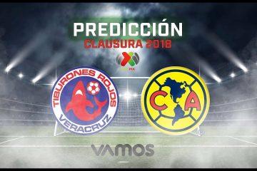 Veracruz vs América en Vivo Online Liga MX 2018
