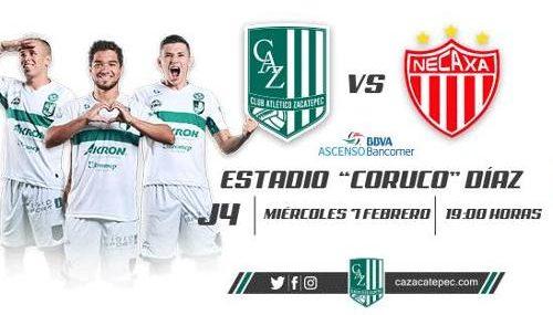 Zacatepec vs Necaxa en Vivo por ESPN Copa MX 2018