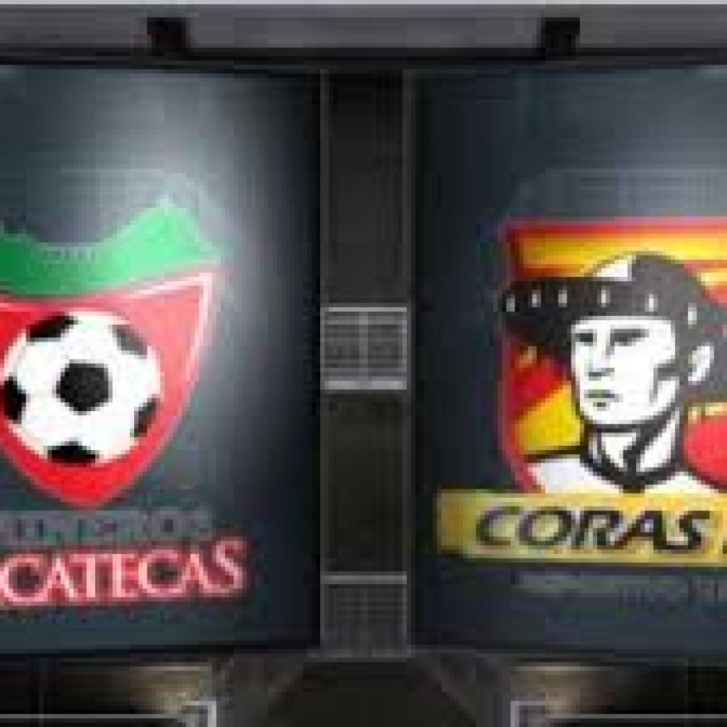 Zacatecas vs Coras Tepic en Vivo - Ascenso MX 2015