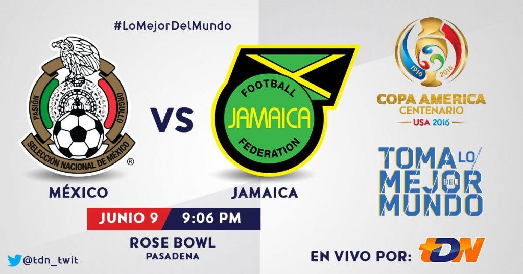 Escuchar México vs Jamaica Radio en Vivo Copa América 2016