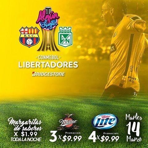 Barcelona vs Atlético Nacional en Vivo Copa Libertadores 2017