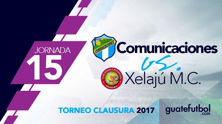 Comunicaciones vs Xelajú en Vivo Fútbol Guatemala 2017