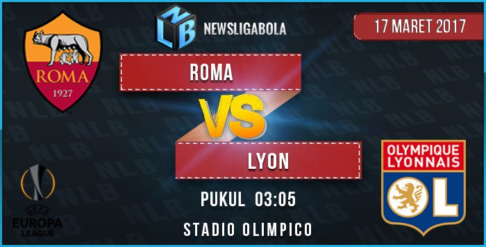 Roma vs Lyon en Vivo Por Internet Europa League 2017