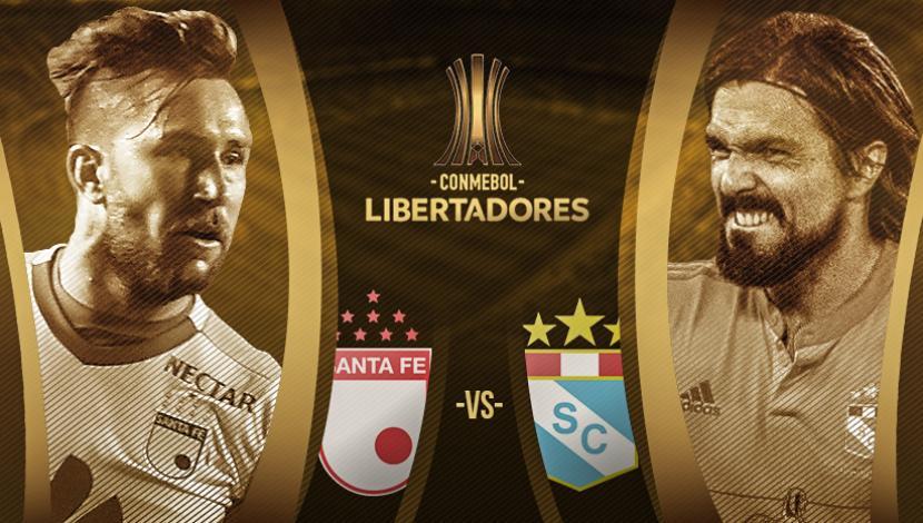 Santa Fe vs Sporting Cristal en Vivo Hoy Copa Libertadores 2017