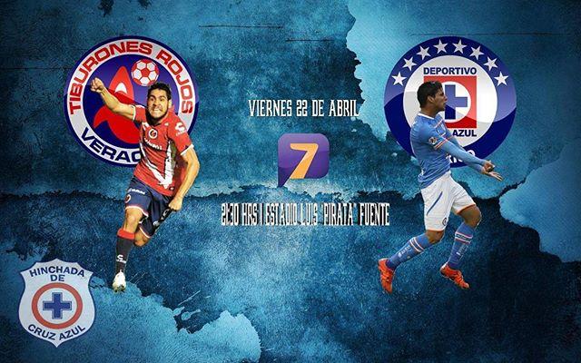 Veracruz vs Cruz Azul en Vivo Liga MX 2017