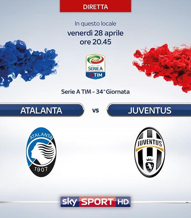 Atalanta vs Juventus en Vivo Serie A 2017