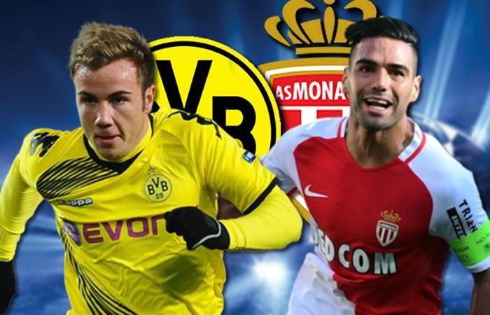 Borussia Dortmund vs Monaco en VIVO Champions League 2017
