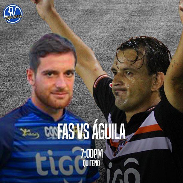 FAS vs Águila en vivo Online Fútbol El Salvador 2017