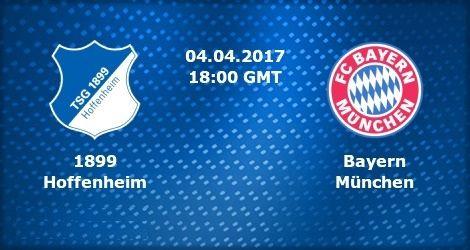 Hoffenheim vs Bayern München en Vivo Bundesliga 2017