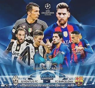 Juventus vs Barcelona en Vivo Champions League 2017