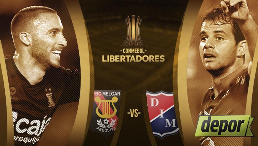 Melgar vs Medellín en Vivo Online Copa Libertadores 2017