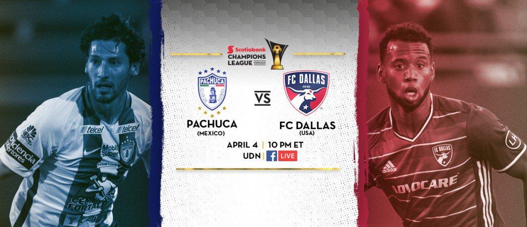 Pachuca vs Dallas en Vivo Online CONCACAF Liga de Campeones 2017