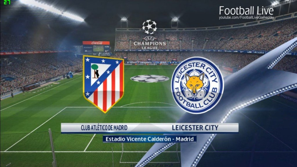 Partido Atlético Madrid vs Leicester City en Vivo Champions League 2017