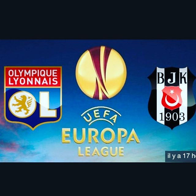 Partido Lyon vs Besiktas en Vivo Europa League 2017