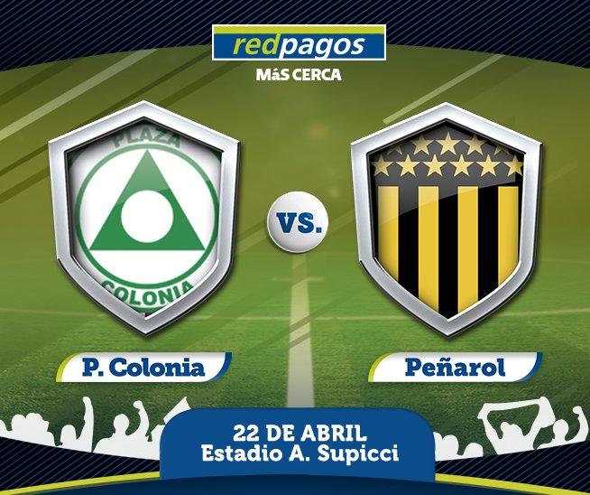 Plaza Colonia vs Peñarol en Vivo Fútbol Uruguay 2017