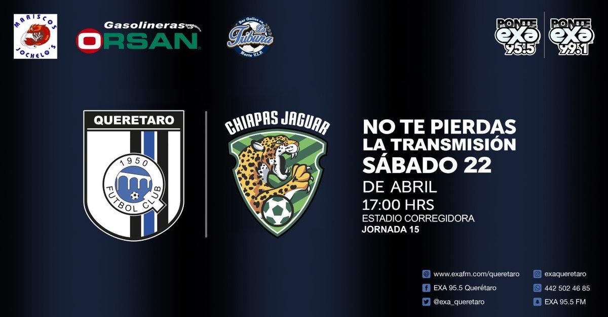 Querétaro vs Chiapas en Vivo Liga MX 2017