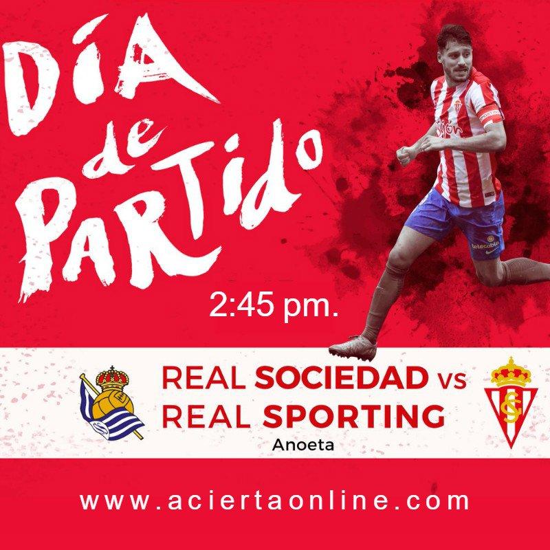Real Sociedad vs Sporting Gijón en Vivo La Liga 2017