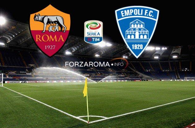 Roma vs Empoli en Vivo Online Serie A 2017