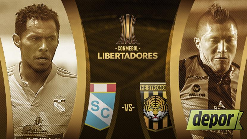 Sporting Cristal vs The Strongest en Vivo Copa Libertadores 2017