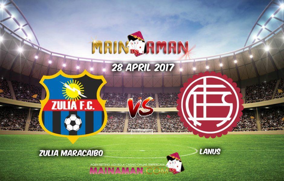 Zulia vs Lanús en Vivo por Internet Copa Libertadores 2017