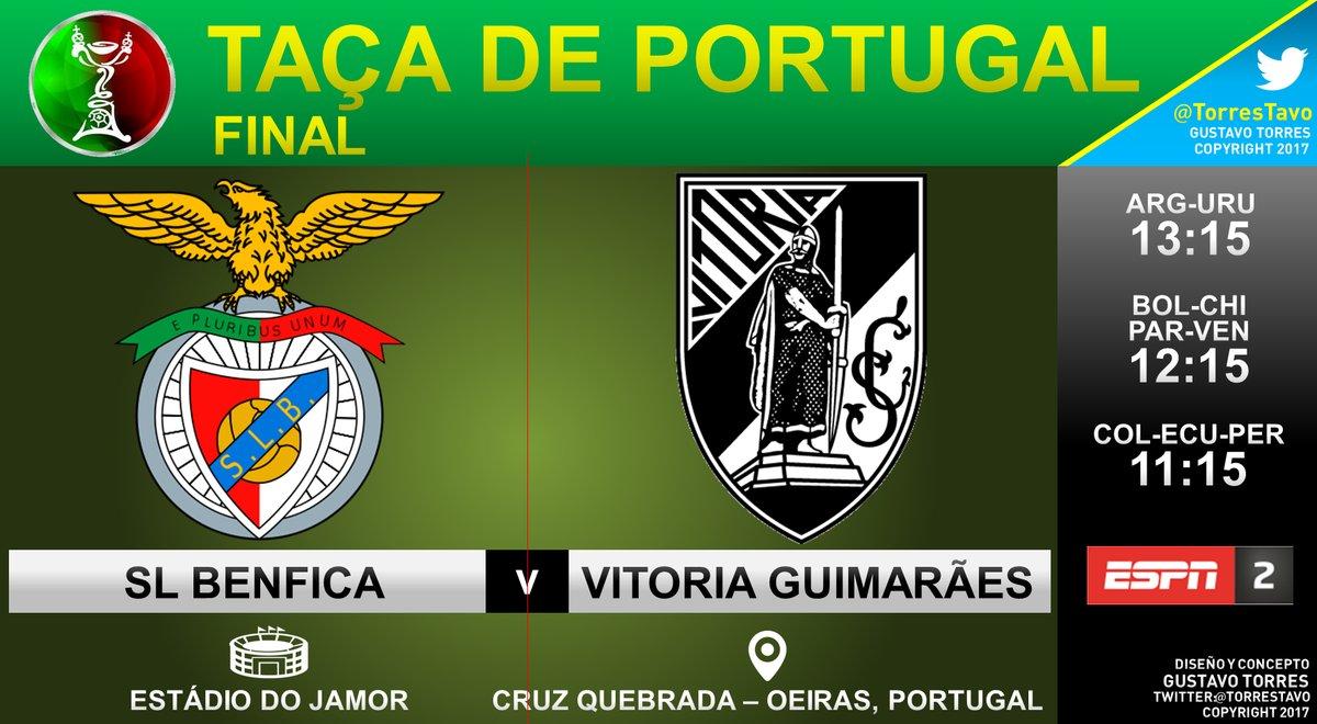 Benfica vs Vitória Guimarães en Vivo Online final Copa de Portugal 2017