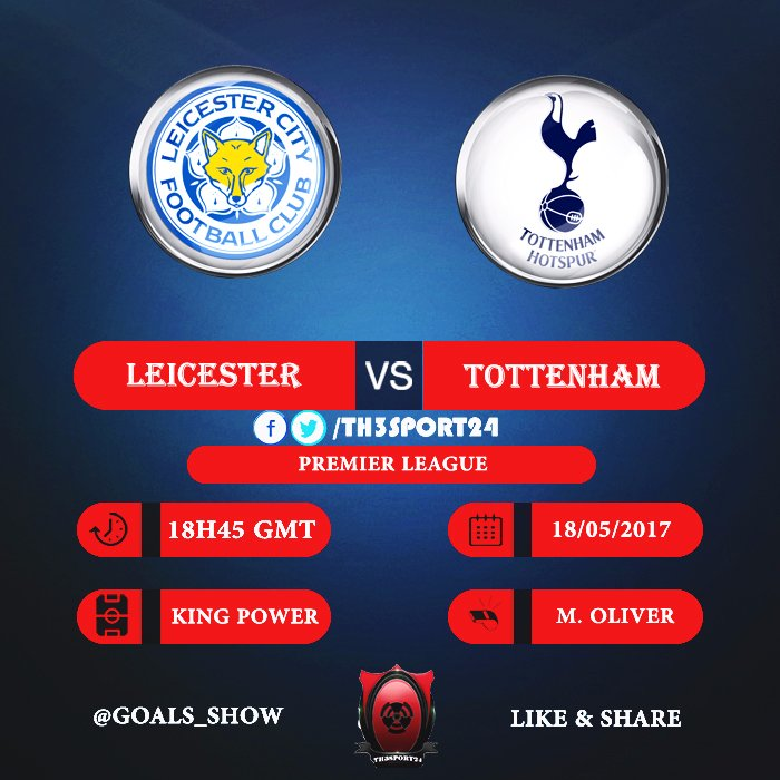 Leicester City vs Tottenham en Vivo Online Premier League 2017