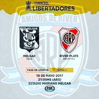 Melgar vs River Plate en Vivo Online Copa Libertadores 2017