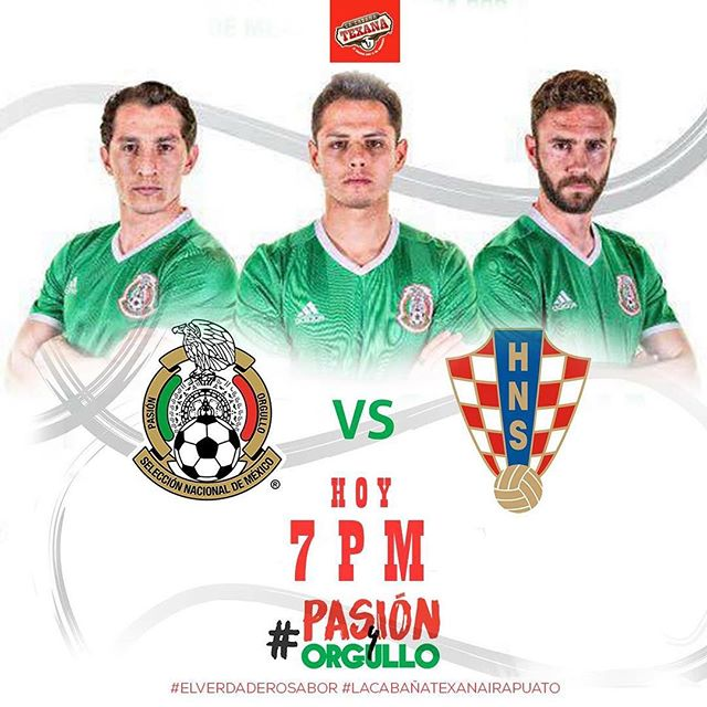 México vs Croacia en Vivo por Internet Amistoso 2017