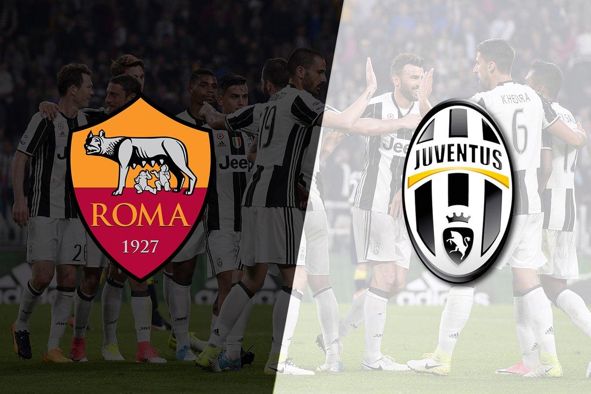 Roma vs Juventus en Vivo Canales para ver Serie A 2017