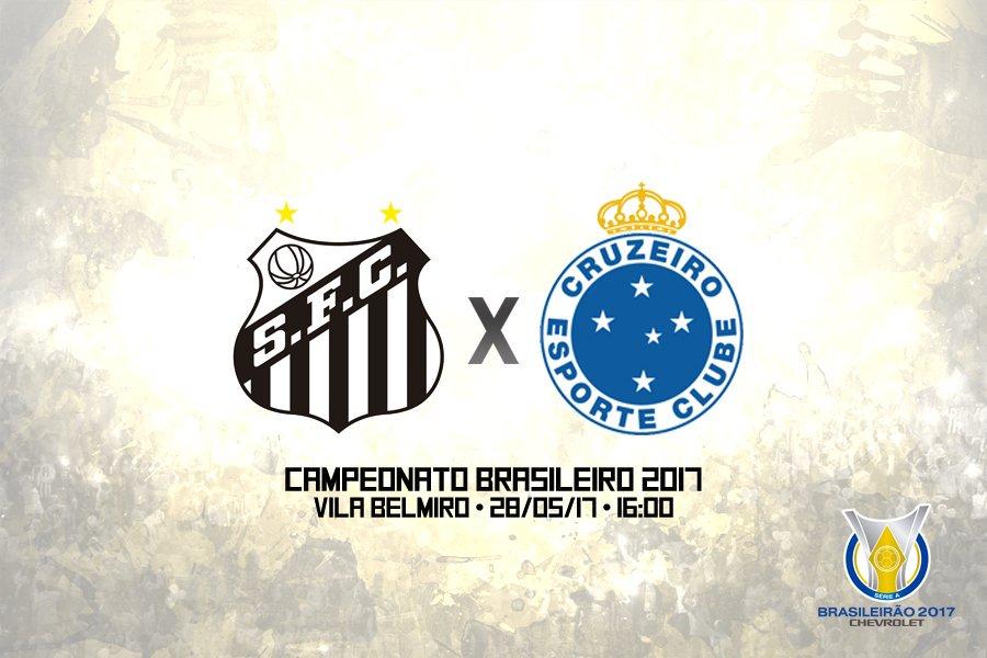 Santos vs Cruzeiro en Vivo Online Brasileirao 2017