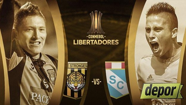 The Strongest vs Sporting Cristal en Vivo Copa Libertadores 2017