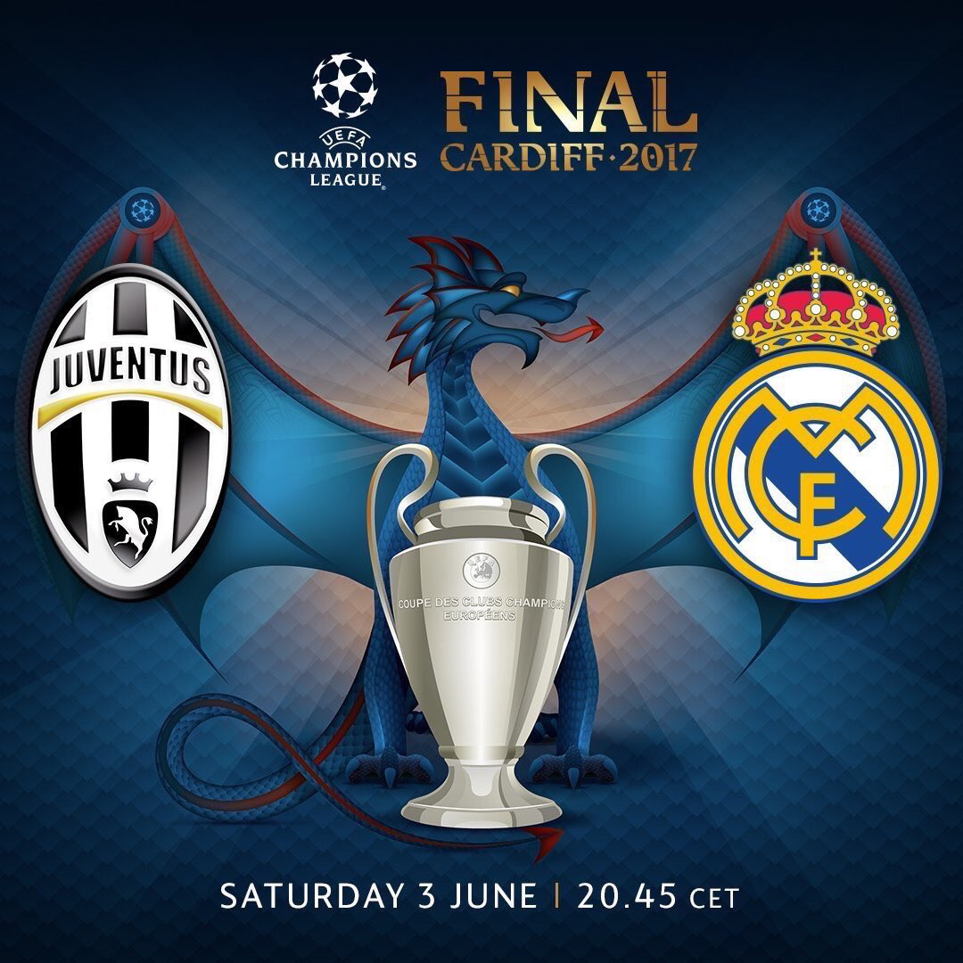 Juventus vs Real Madrid en Vivo por Internet Champions League 2017