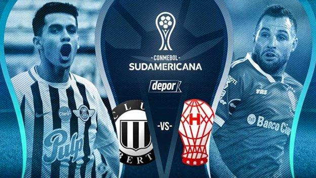 A que hora juega Libertad vs Huracán en Vivo Copa Sudamericana 2017