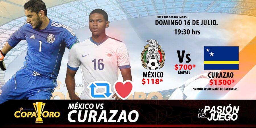 Curazao vs México en Vivo Azteca Trece TV Copa Oro 2017