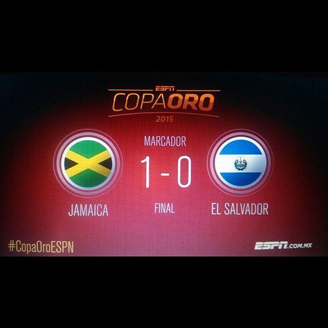 Jamaica vs El Salvador en Vivo Copa Oro 2017