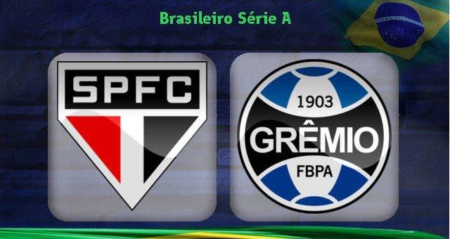 São Paulo vs Grêmio en Vivo Brasileirao 2017