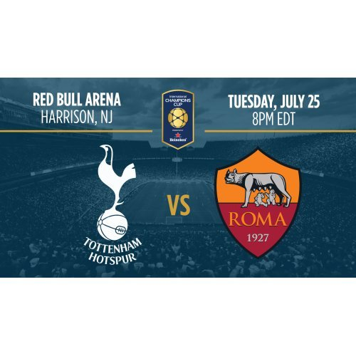 Tottenham vs Roma en Vivo Online International Champions Cup 2017