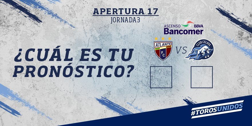 Atlante vs Celaya en Vivo Online Ascenso MX 2017