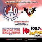 Atlético San Luis vs Murciélagos en Vivo Ascenso MX 2017