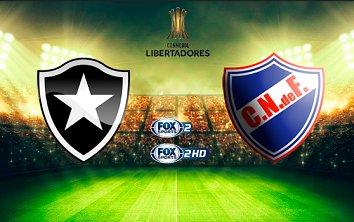 Botafogo vs Nacional en Vivo Fox Sports Copa Libertadores 2017