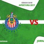 En que canal juega Chivas vs Querétaro en Vivo Liga MX 2017