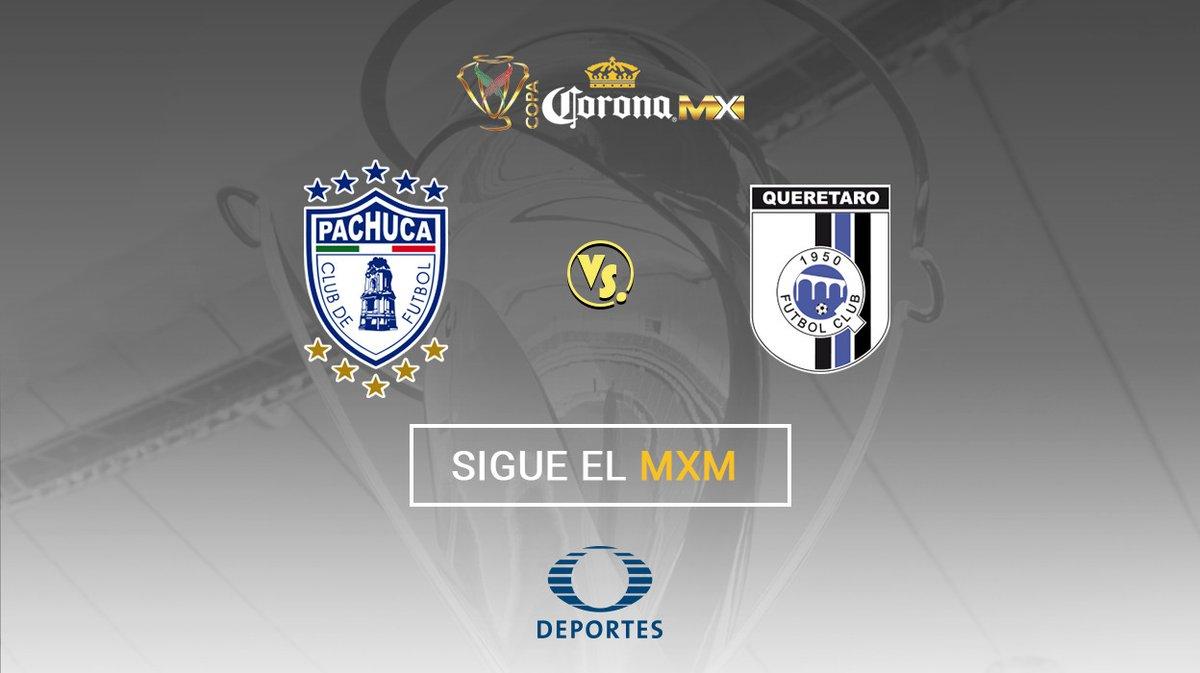 Querétaro vs Pachuca en Vivo Copa MX 2017