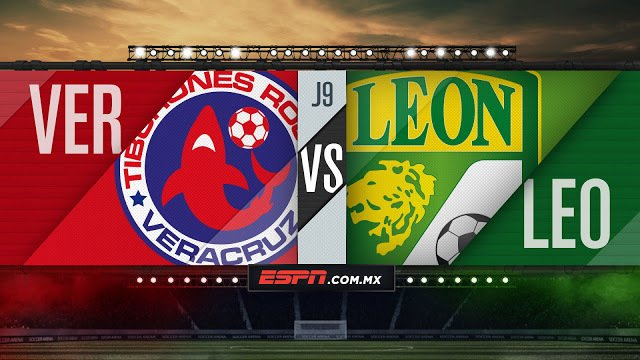Veracruz vs León en Vivo Copa MX 2017