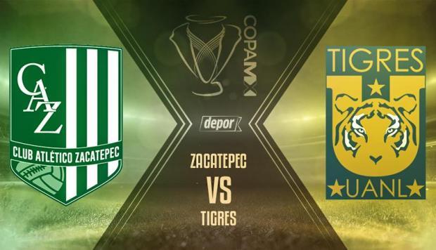 Zacatepec vs Tigres en Vivo por Internet Copa MX 2017
