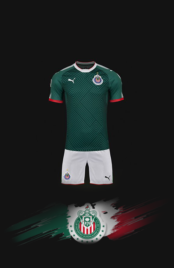 Wallpaper Chivas México - fondo de pantalla tricolor