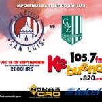 Atlético San Luis vs Zacatepec en Vivo Ascenso MX 2017