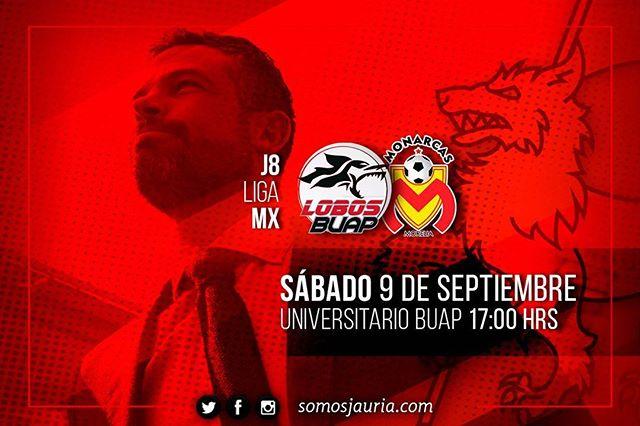 En que canal juega Lobos BUAP vs Morelia en Vivo Liga MX 2017