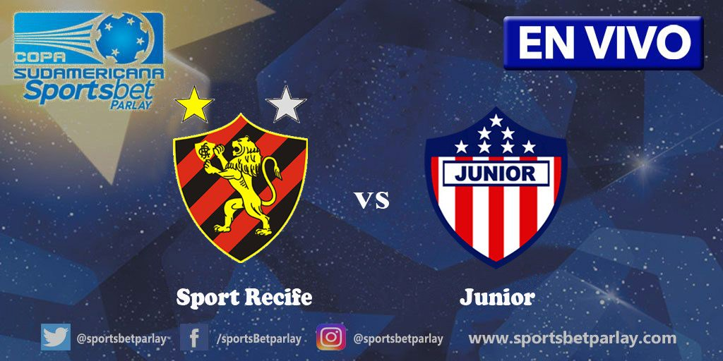 Fox Sports en Vivo Sport Recife vs Junior Copa Sudamericana 2017